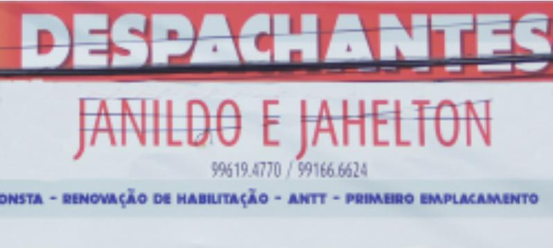 Despachantes Janildo e Jahelton